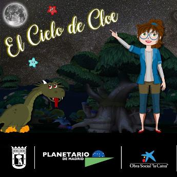 Programa de planetario: El cielo de Cloe